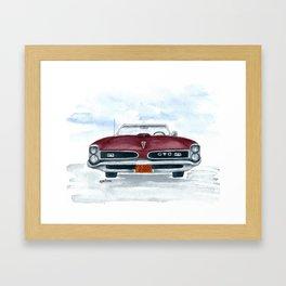 '66 GTO Framed Art Print