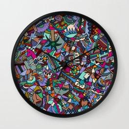 Colorfest Wall Clock