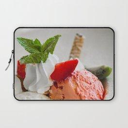 Strawberry ice cream Laptop Sleeve