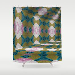 Iconic Hollows 4 Shower Curtain