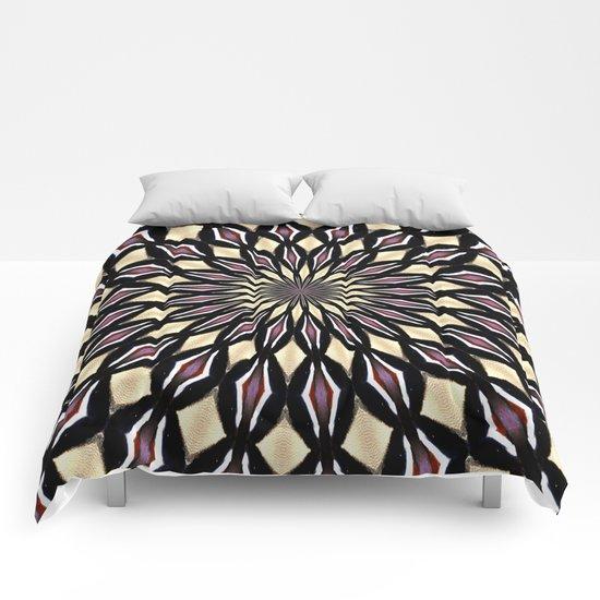 PURPLE PETALS Comforters