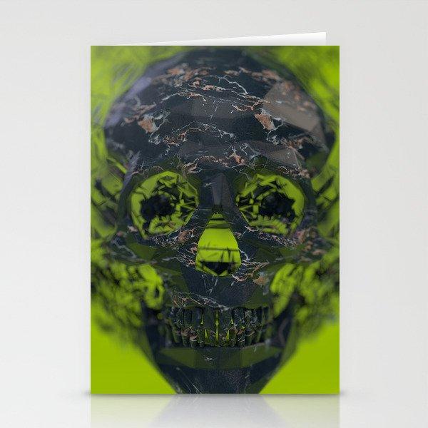 Skull Explotion Stationery Cards