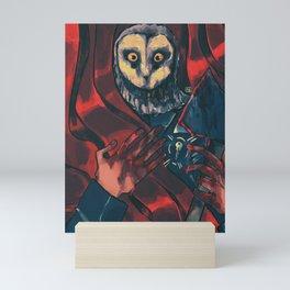 Stage Fright Mini Art Print