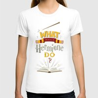 hermione T-shirts featuring What Would Hermione Do? by Frying Sausage