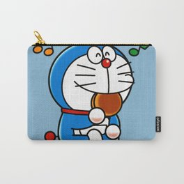Doraemon eat Dorayaki 3 Carry-All Pouch