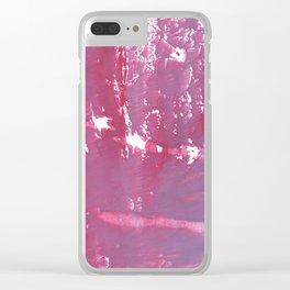 Pale violet Clear iPhone Case
