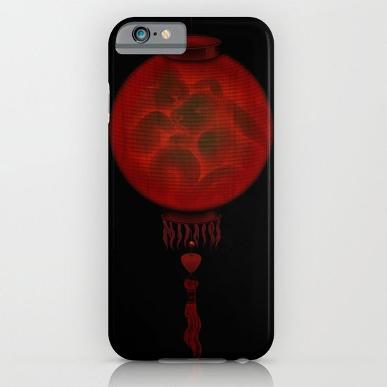 Red Moon iPhone & iPod Case