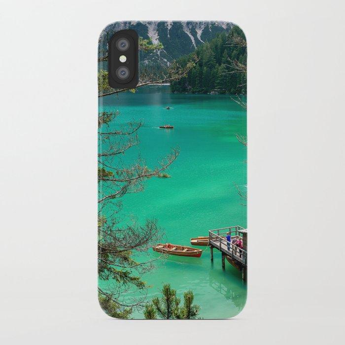 Pragser Wildsee iPhone Case