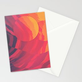 Unbearable Heat Stationery Cards