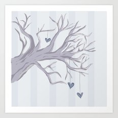 Cold Cold Heart Art Print