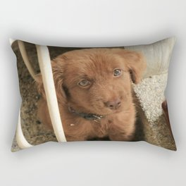 Potter's Cute Beginning: Hello New Home Rectangular Pillow