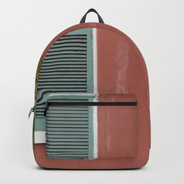 New Orleans Teal Shutters Backpack