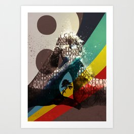 Love ve love love... Art Print