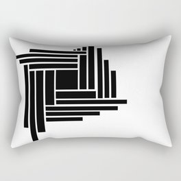 Black Box Rectangular Pillow