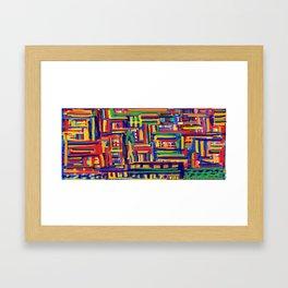 Tangled up in Mug Framed Art Print
