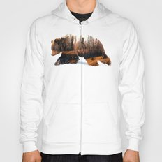 Travelling Bear Hoody