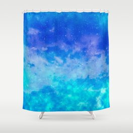 Sweet Blue Dreams Shower Curtain