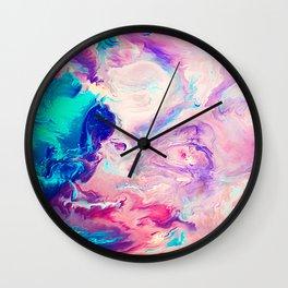 Ice Paint Wall Clock