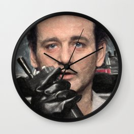Dr. Peter Venkman Wall Clock