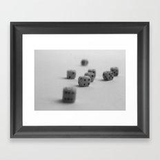 Dominos Framed Art Print