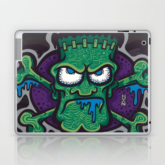 TURN THE CRANK, IT'S TIME FOR FRANK! Laptop & iPad Skin