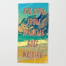 Girl from Ipanema #2 – A Hell Songbook Edition Beach Towel