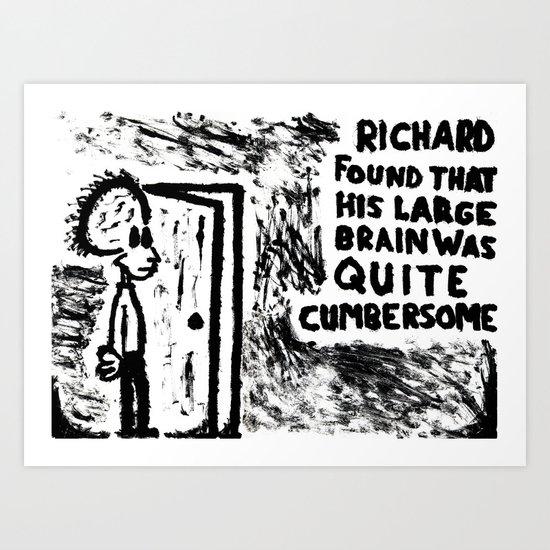 Cumbersome Art Print