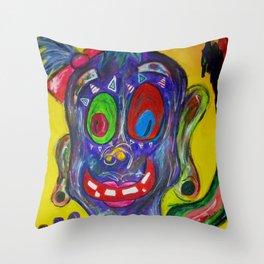 Monster Fairy Throw Pillow
