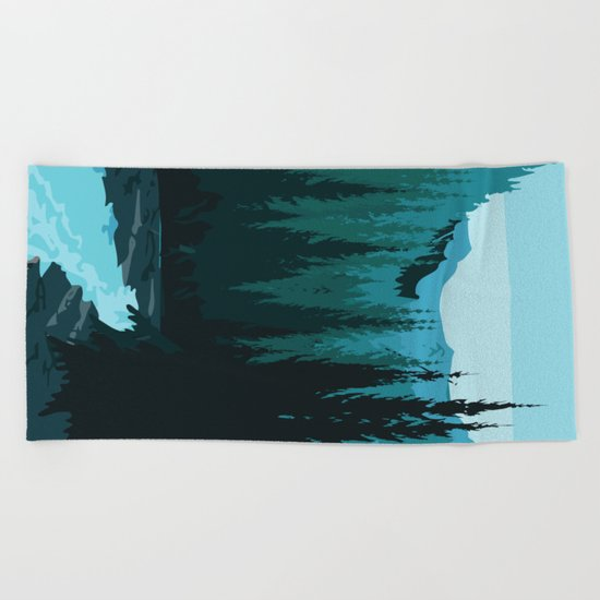 My Nature Collection No. 36 Beach Towel