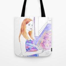 Elle Fanning, Somewhere Tote Bag