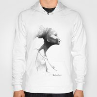 afro Hoodies featuring Afro by Vito Quintans