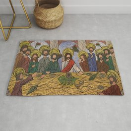 Last Supper Rug