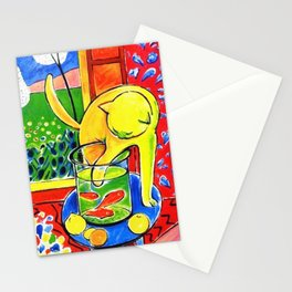 Henri Matisse - Le Chat Aux Poissons Rouges 1914 Stationery Cards