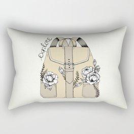 Remember To Explore Rectangular Pillow