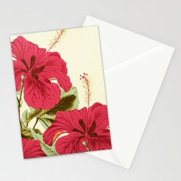 Vintage Garden (Tropical Hibiscus) Stationery Cards