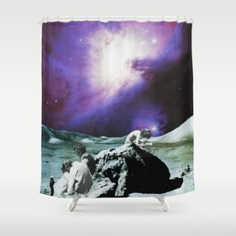 The Wall I Shower Curtain