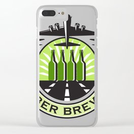 B 17 heavy bomber bee Clear iPhone Case