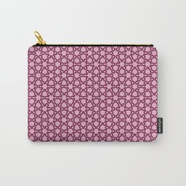 Fractal Lace Carry-All Pouch