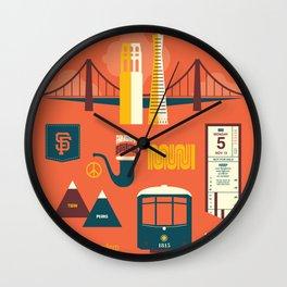 Sanfrancisco Wall Clock