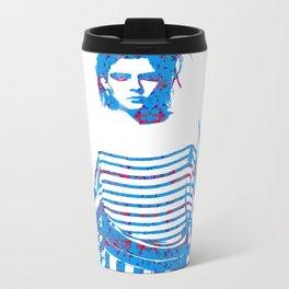 Fashion: Stripes Metal Travel Mug