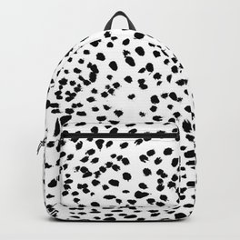Dalmat-b&w-Animal print I Backpack