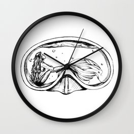Water in Your Eyes Wall Clock