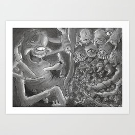 Spiderbro Art Print