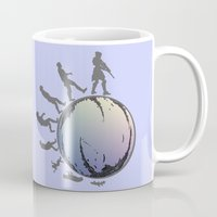 arsenal Mugs featuring Space Evolution  by Astrablink7