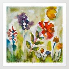 Happy colors :) Art Print
