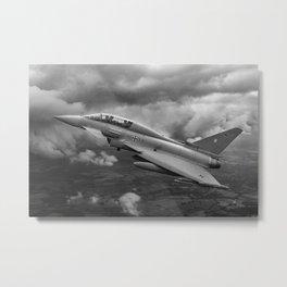 Eurofighter II Metal Print