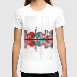 Kabul Afghanistan Skyline T-shirt