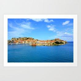 Elba Island, Portoferraio Art Print