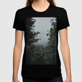 Backwoods Winter: Ponderosa Pines, Washington T-shirt