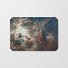 Space Art - Hubble Telescope - Nebula Bath Mat
